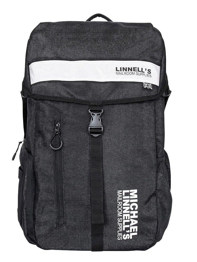 [マイケルリンネル] リュック 30L バックパック ML-008  ブラック/ホワイト B07Q9Y9W17