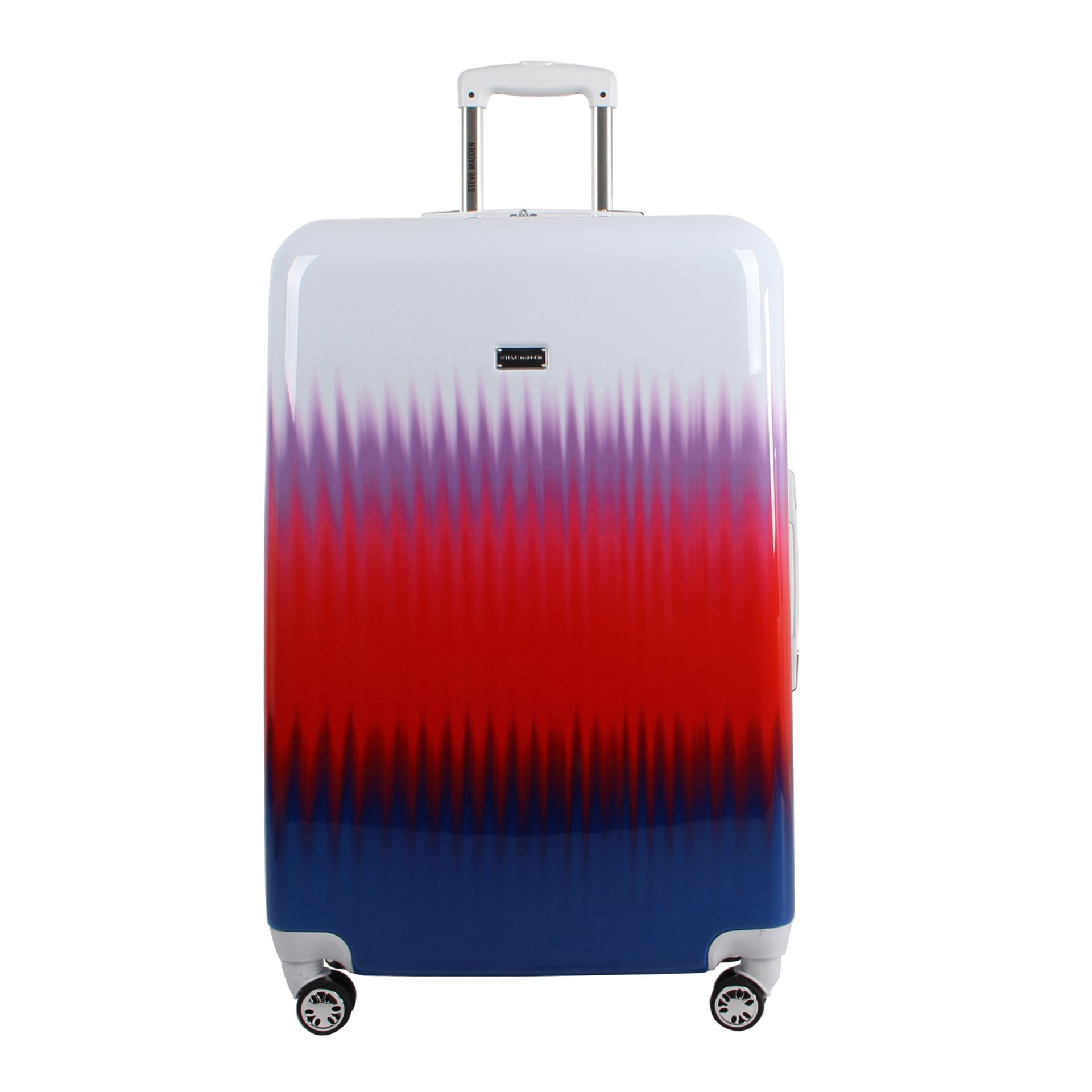 Steve Madden Large Hard Case Luggage With Spinner Wheels (Spikes)