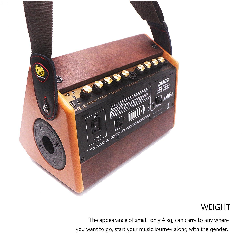 Idee Audio BM25 recargable multifunción Guitar Amplifier: Amazon.es: Instrumentos musicales