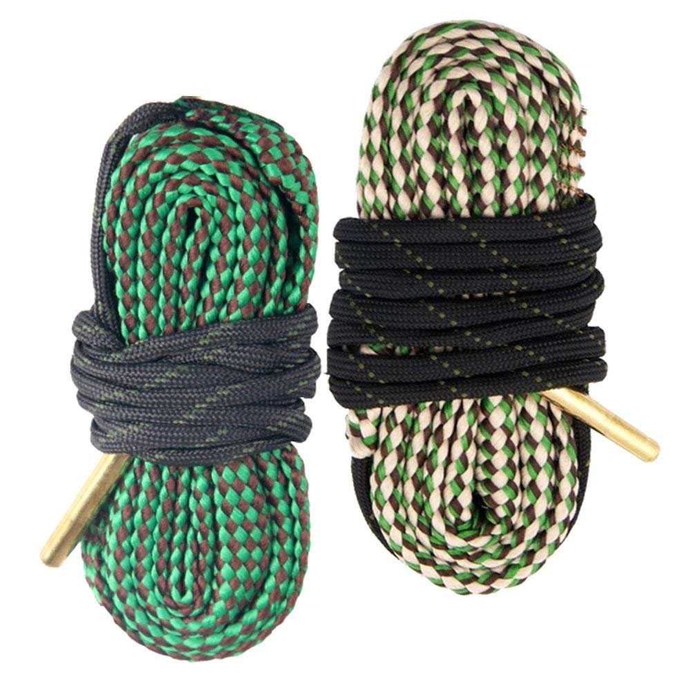 AIRSSON 2pcs Bore Cleaner Snake Pistol Rifle Shotgun Gun Cleaning Rope Kit for 22 223 30 308 Cal 5.56mm 7.62mm by AIRSSON