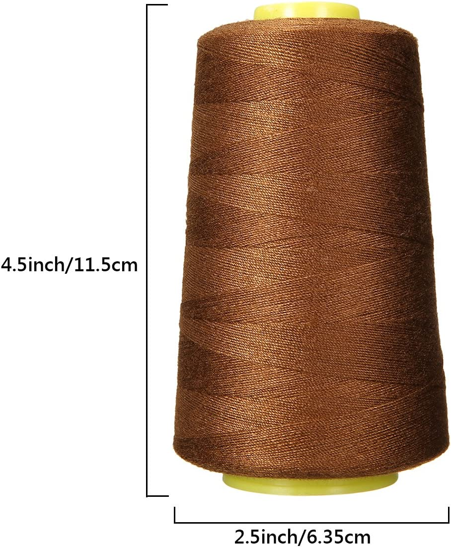 KING DO WAY Lot De 24 Pcs 1000 Yards Bobines De Fils /À Coudre Polyester Couture Loisir Cr/éatif Sewing Thread-Multicolore