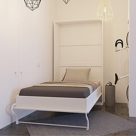 Smartbett Bett Verstecktem Von 120 Cm Vertikale Schrank Bett Das
