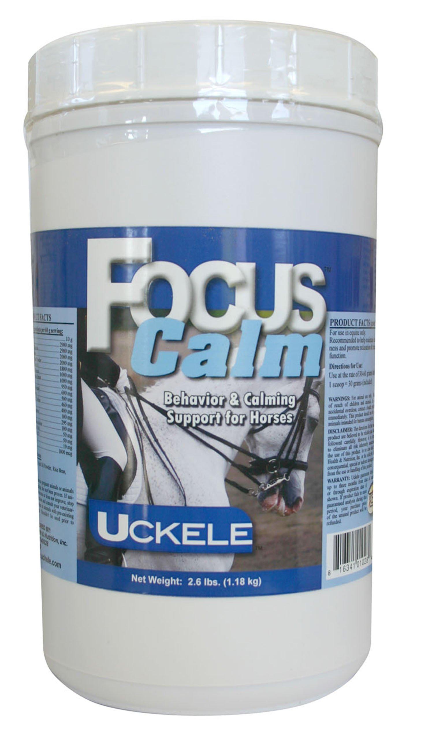 Uckele Focus Calm Horse Supplement, 2.6-Pound