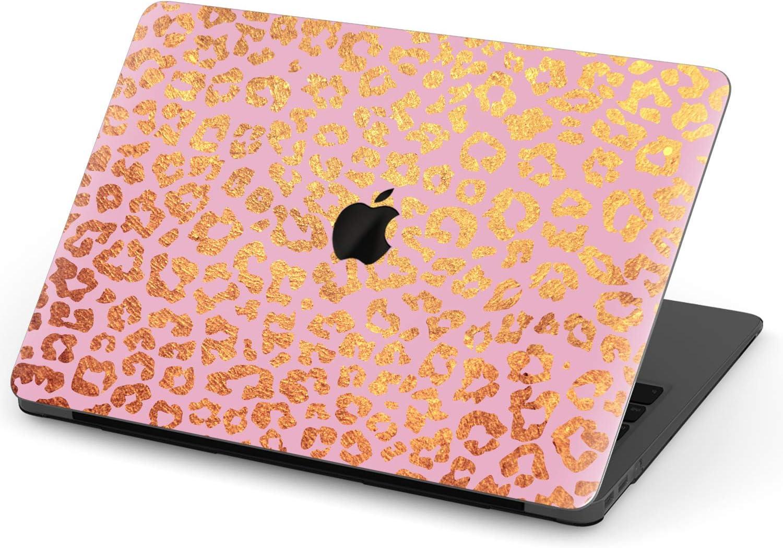 MacBook Pro 2015 Case Retro Leopard Print Colorful Belt Plastic Hard Shell Compatible Mac Air 13 Pro 13//16 Case MacBook Air 13 Protective Cover for MacBook 2016-2020 Version