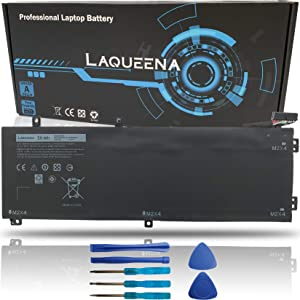 Laqueena H5H20 Laptop Battery Compatible with Dell XPS 15 9550 9560 9570 7590 Precision 5510 5520 5530 5540 Inspiron 7501 7590 7591 Series 6GPTY 62MJV M7R96 5D91C 05D91C 11.4V 56WH/4946MAH 3-Cell