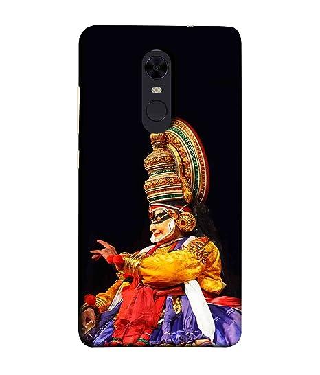 Mi Note 5 Back Cover - Kerla Kathakali Dance Pose: Amazon in