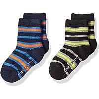 Carhartt boys BA861-2-WEB Crew Socks With Grippers 2-pair Casual Sock