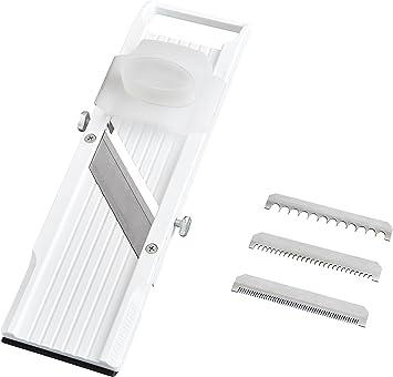 Benriner Mandoline Slicer With 4 Japanese Stainless Steel Blades Bpa Free New Model
