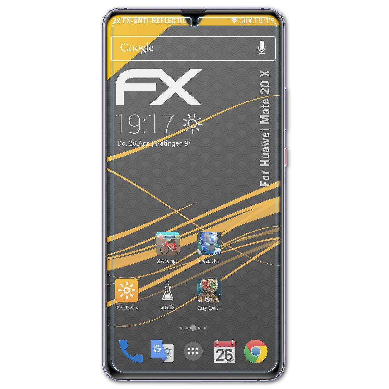 Atfolix 3x Panzerfolie Für Huawei Mate 20 X Schutzfolie Fx-antireflex Folie Rabatte Verkauf Handys & Kommunikation Displayschutzfolien