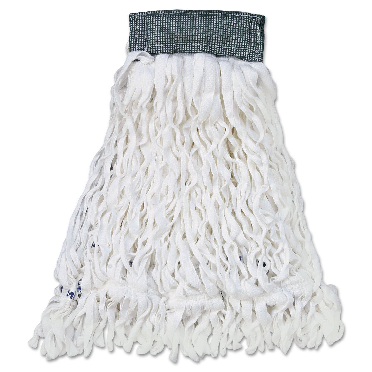 Clean Room Maintenance Mop, Medium - Tail Banded Mop For Greater Floor Coverage -- 12 Per Case.