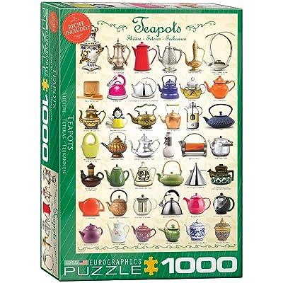 EuroGraphics Teapots Puzzle (1000-Piece): Toys & Games