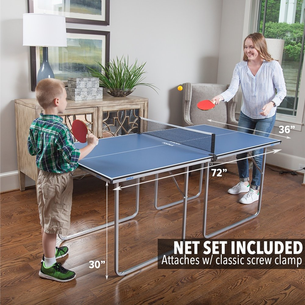 JOOLA Midsize Compact Table Tennis Table – Best Portable Ping-pong Table