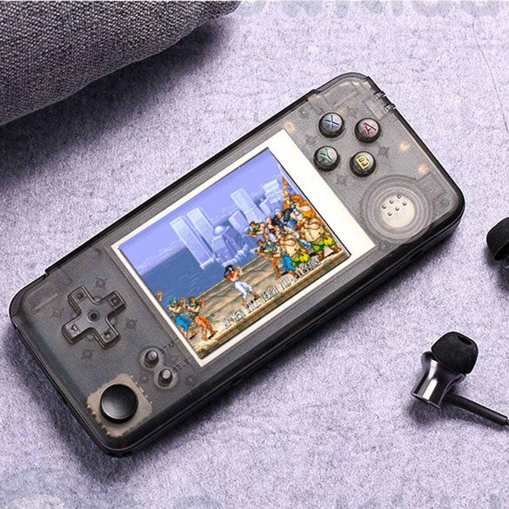 Basde Handheld Game Console Kids Adults, Retro Game Console Portable Handheld Game Player Built-in 3000 Game Joystick, Home Travel Portable Gaming System Childrens Tiny Toys Digital (A) by Basde (Image #9)