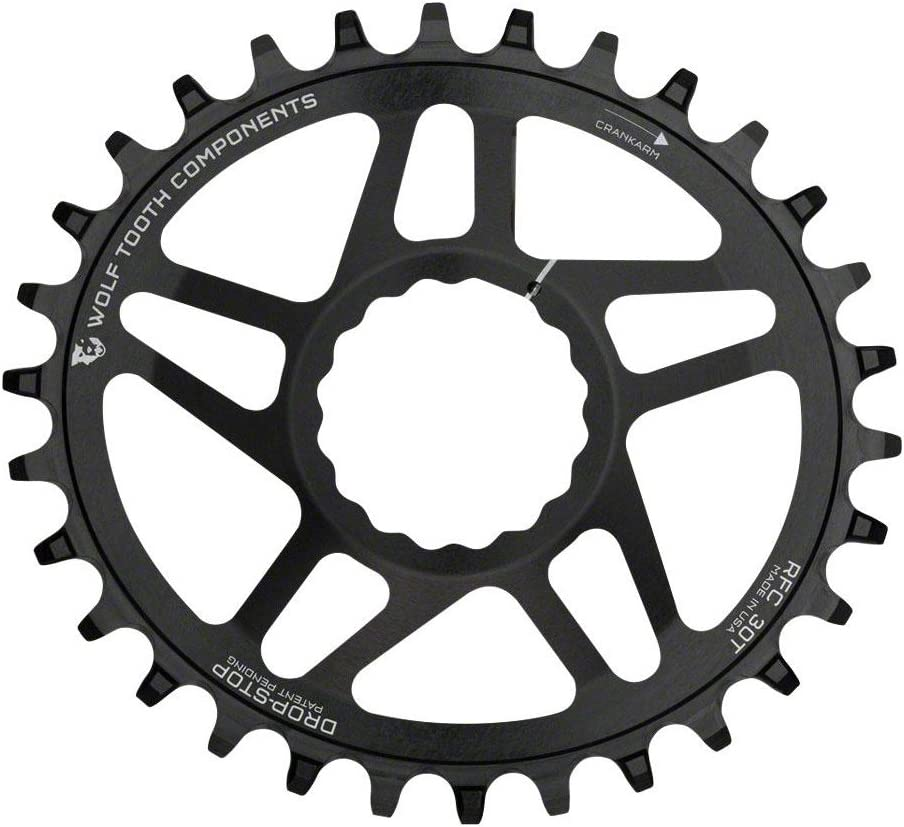 Wolf Tooth Oval Boost Race Face Plato Bicicleta, Negro, 28: Amazon ...