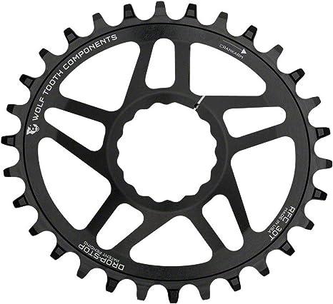 Wolf Tooth Oval Boost Race Face Plato Bicicleta, Negro, 28: Amazon.es: Deportes y aire libre