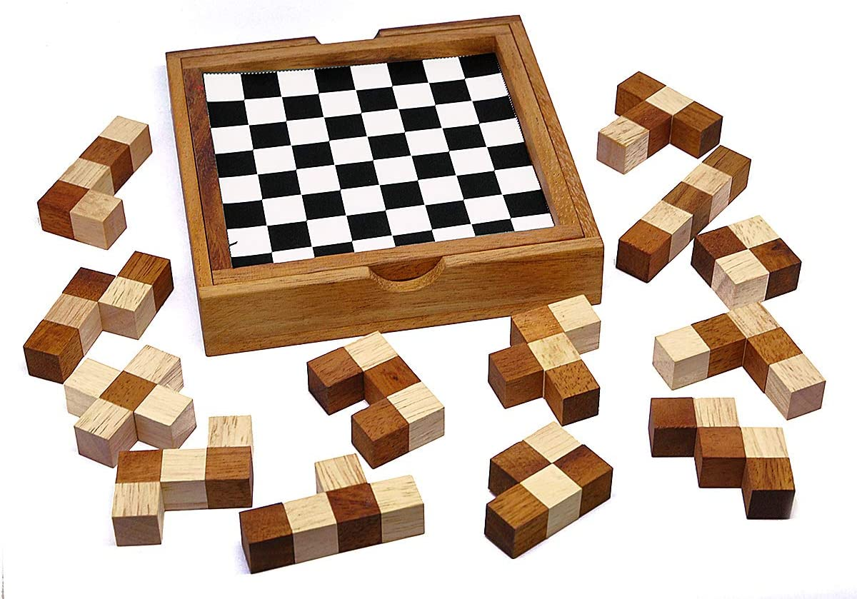 LOGICA GIOCHI Art. Pentaminos - 60 Puzzles En 1 – Puzzle Inteligente - Juego De Mesa - Juego De Ingenio - Altas Dificultades: Amazon.es: Juguetes y juegos