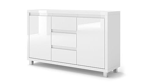 BIM Furniture Nordic Bianco II - Cómoda, Color Blanco ...
