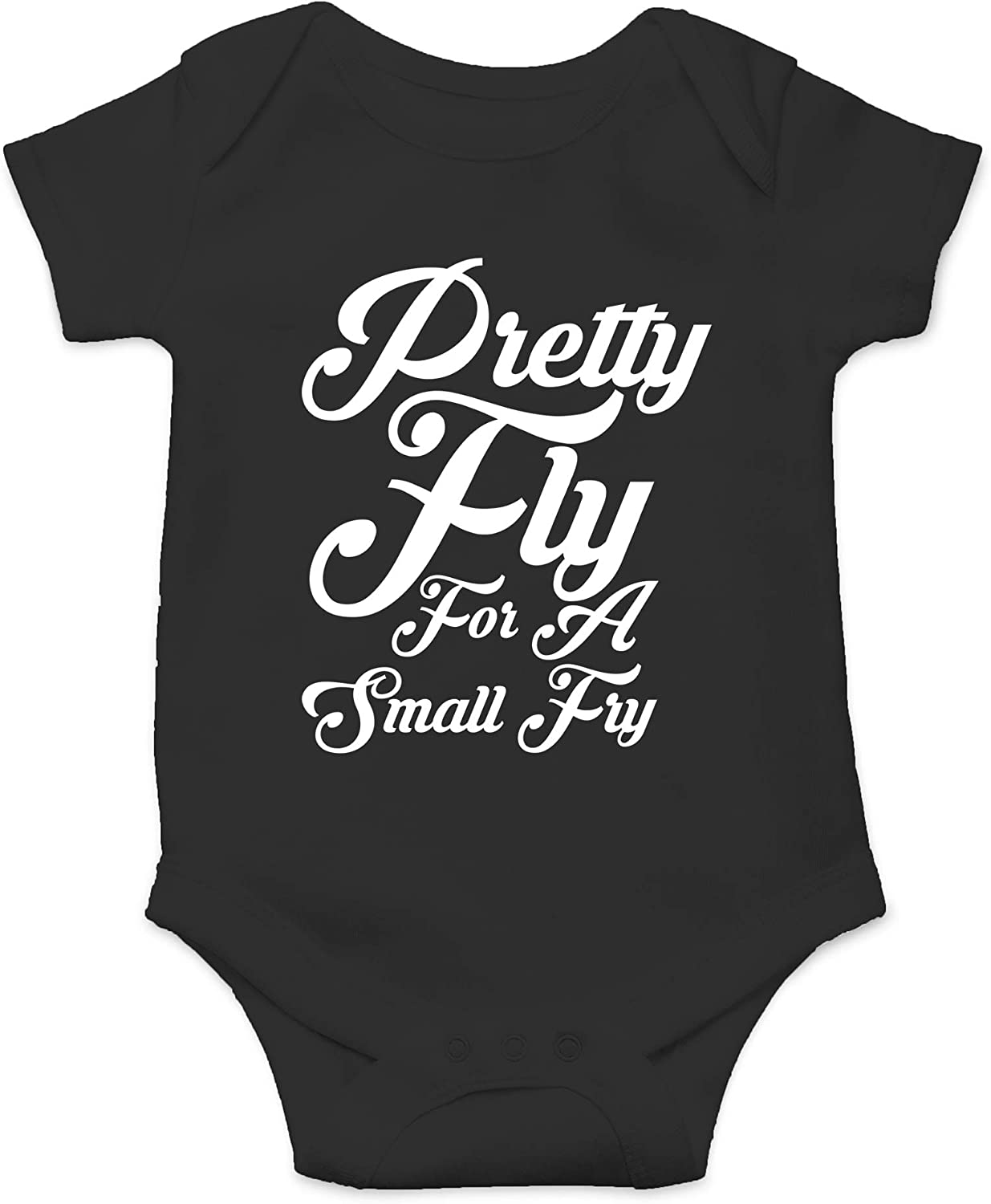 CBTwear Pretty Fly for A Small Fry - Fast Food Humor - Cute Infant One-Piece Baby Bodysuit