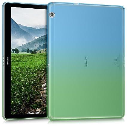 foto ufficiali e1a43 2a652 kwmobile Huawei MediaPad T3 10 Cover - Custodia Tablet in Silicone TPU -  Copertina Protettiva Tab - Backcover per Huawei MediaPad T3 10