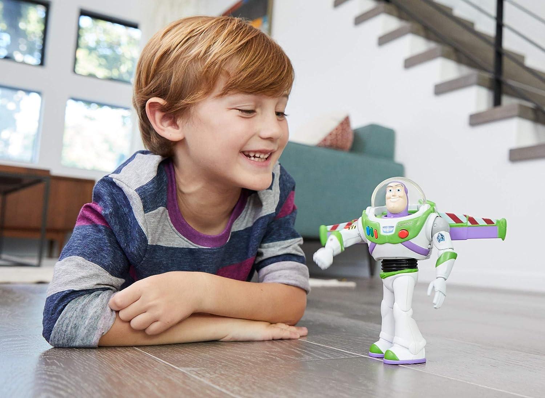 jouet pour enfant GGH45 Disney Pixar Toy Story 4 Figurine Parlante Buzz l/Éclair Super Action version allemande