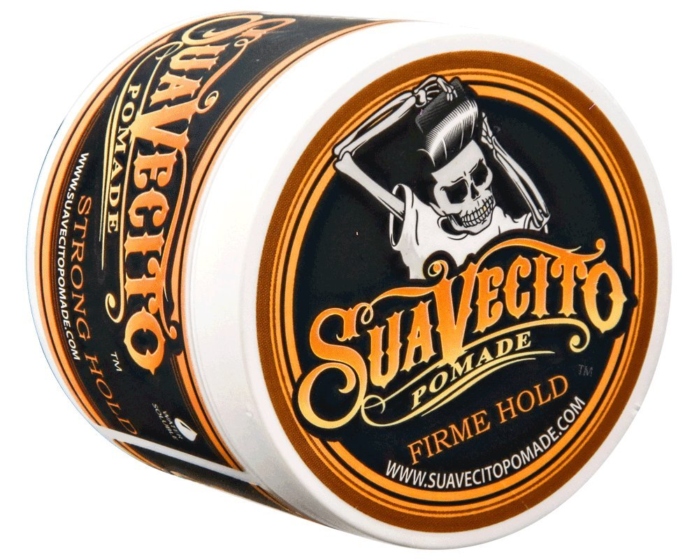 Suavecito Pomade Firme (Strong) Hold 4 oz by Suavecito