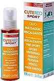 Cutered Sport Olio Massaggio Riscaldante