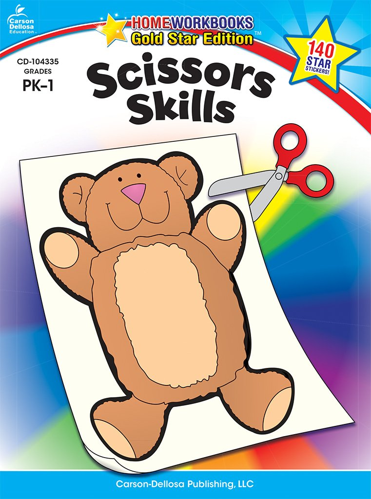 Scissors Skills, Grades PK - 1: Gold Star Edition (Home Workbooks) pdf epub