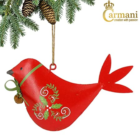 carmani bird traditional metal christmas tree hanging decorations