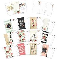 Carpe Diem Divertido diseño Bloom Personal planificador mensual Inserciones