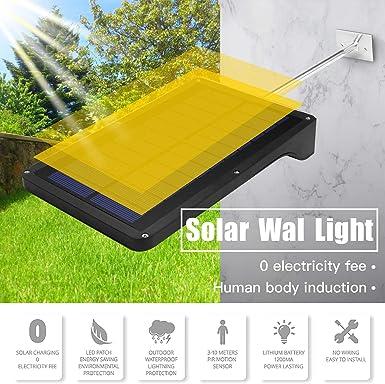 impermeable decoraci/ón de patio energ/ía solar Atokit 2 unidades luces solares de /árbol de Navidad luces solares de tierra IP65 Luces solares de jard/ín para exteriores multicolor