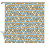 CafePress - Pembroke Welsh Corgis Shower Curtain - Decorative Fabric Shower Curtain