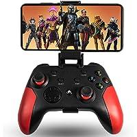 Maegoo Mando para Android/PC/PS3, Mando Android Móvil Inalámbrico Bluetooth con Soporte Retráctil, 2.4G Inalámbrico…