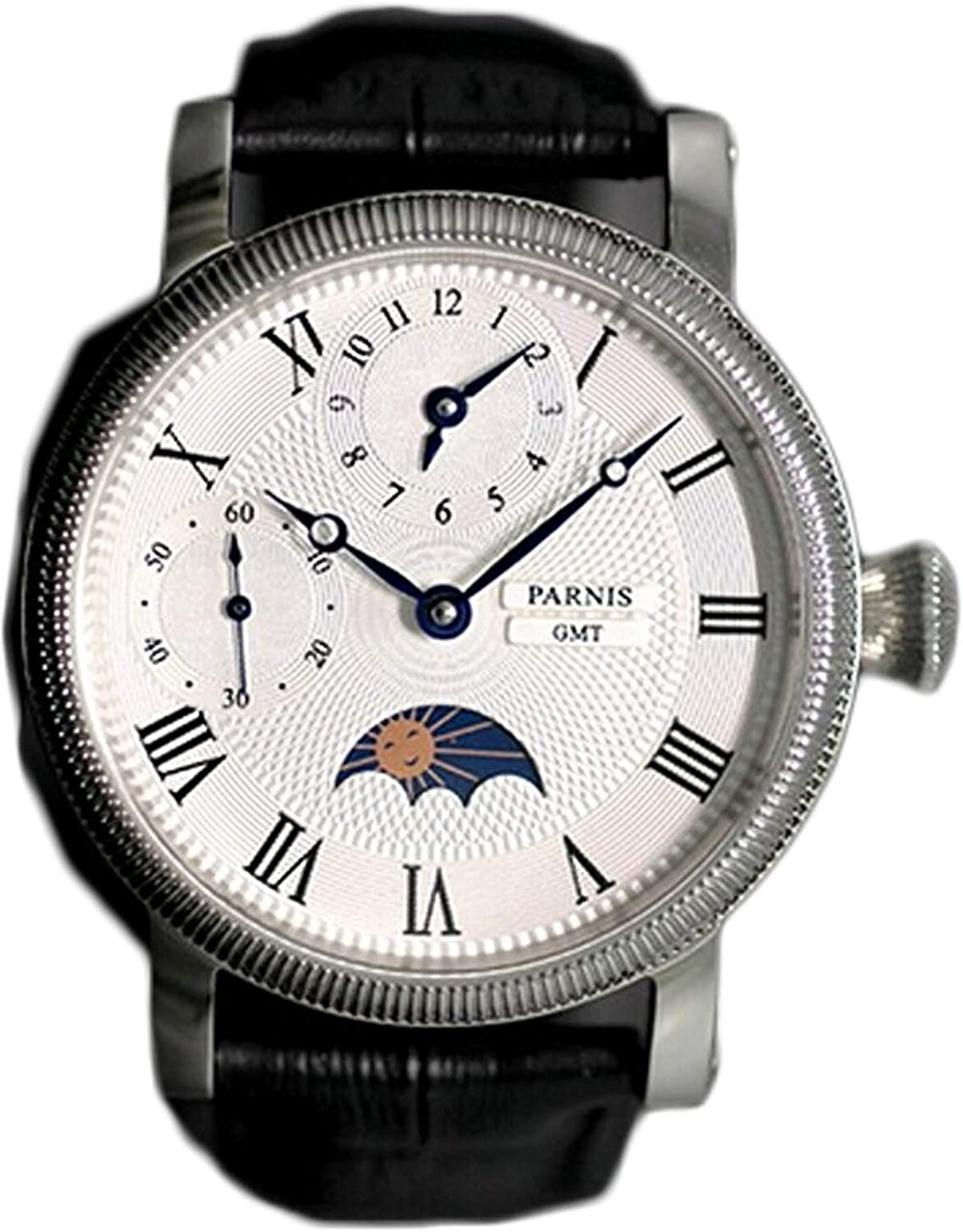Parnis Moonphase watch