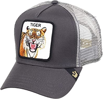 Gorra Trucker Goorin Eye of The Tiger Gris Unica Gris: Amazon.es ...