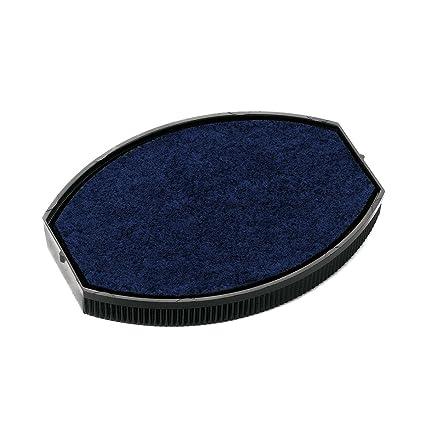 Colop Repuesto Cojín Ovalado tampones de recambio para diferentes tamaños y colores Oval 44 blau