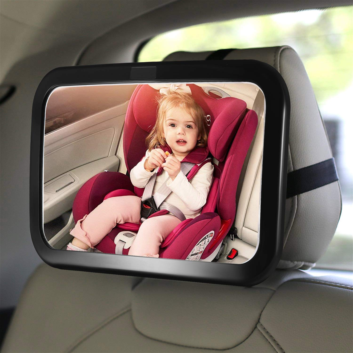 Fairycat Baby Backseat Mirror For Car View Rear Facing Infant In Car Backseat Best Newborn