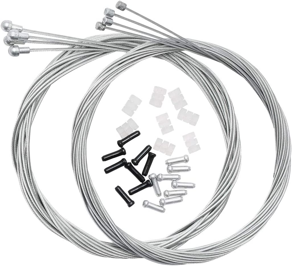 Bicycle Derailleur Shifter Cables,Brake Cables Set for Shimano Sram Road Mountai