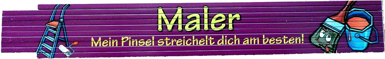 Zollstock Motiv Auswahl m/öglich Landwirt bedruckt 2m
