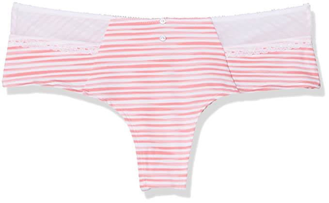 Lovable Stripes, Shorts para Mujer, (Rosa 599), 40 ES(Talla