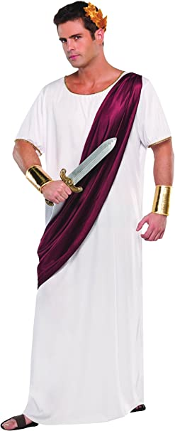 Christy`s 996195 - Disfraz de romano para hombre (adulto): Amazon ...