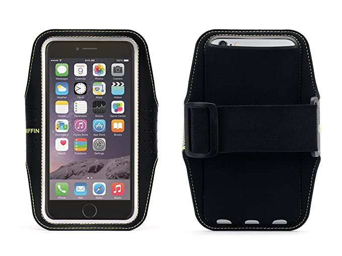 huge discount 1f4e0 857c8 Griffin Trainer Sleeve and Armband for iPhone 6/6s Plus - Fits Arms up to  18