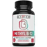 Methyl B12 (Vitamin B12) Lozenges, 5000 mcg for Maximum Absorption and Active Energy...