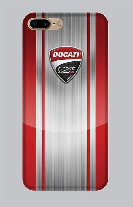 WorldSell Coque en TPU Apple IPHONE 7-8 Plus LOGHI 156 Ducati ...