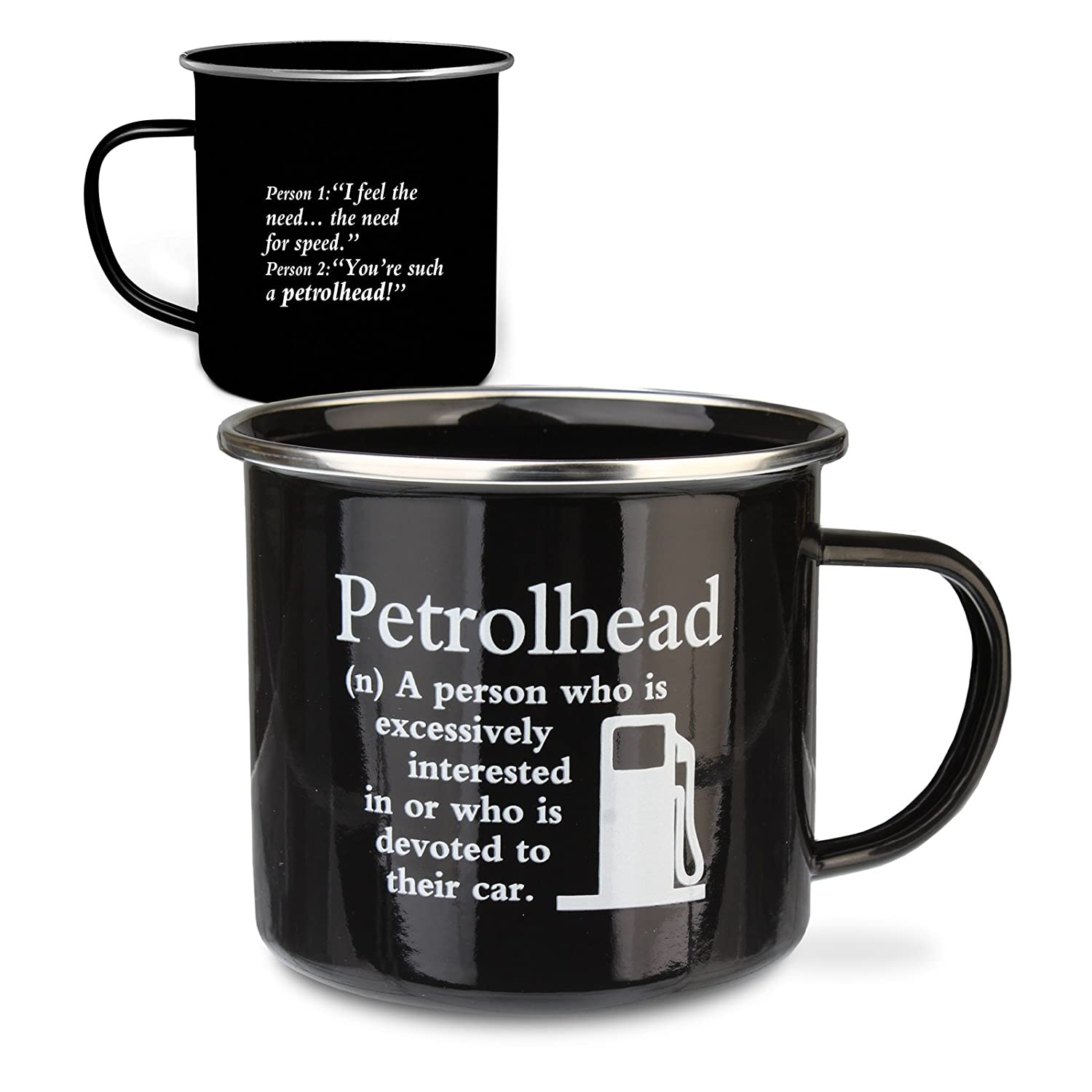 Urban Words Tin Mug'Petrolhead' Title and Slang Words Including Meaning. History & Heraldry