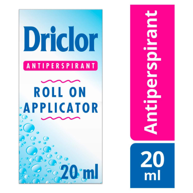 Driclor Driclor Antiperspirant Roll On Applicator 20 ml, Pack of 1