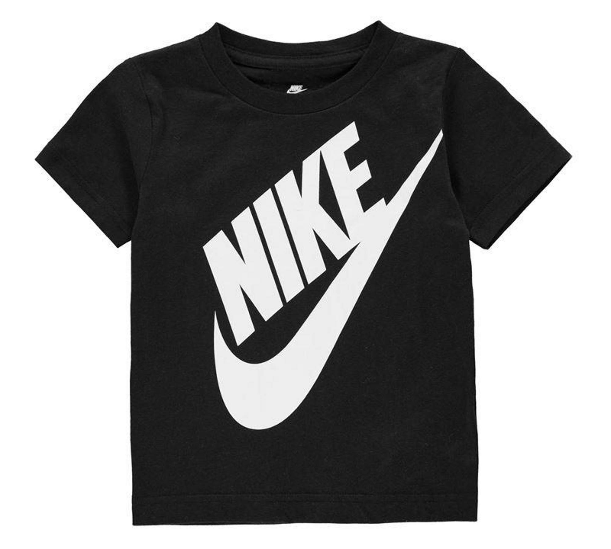 Nike Boys Toddler T-Shirt Black/White