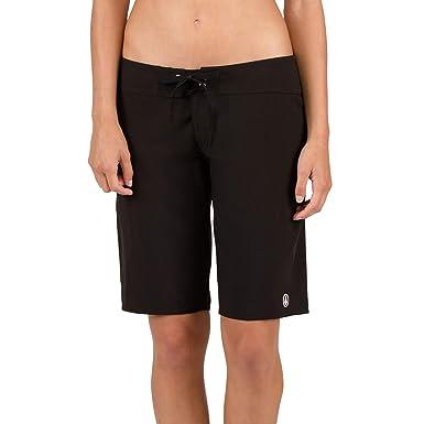 3fed452b09 Volcom Women's Simply Solid 11-Inch Classic Swim Boardshort at Amazon  Women's Clothing store: