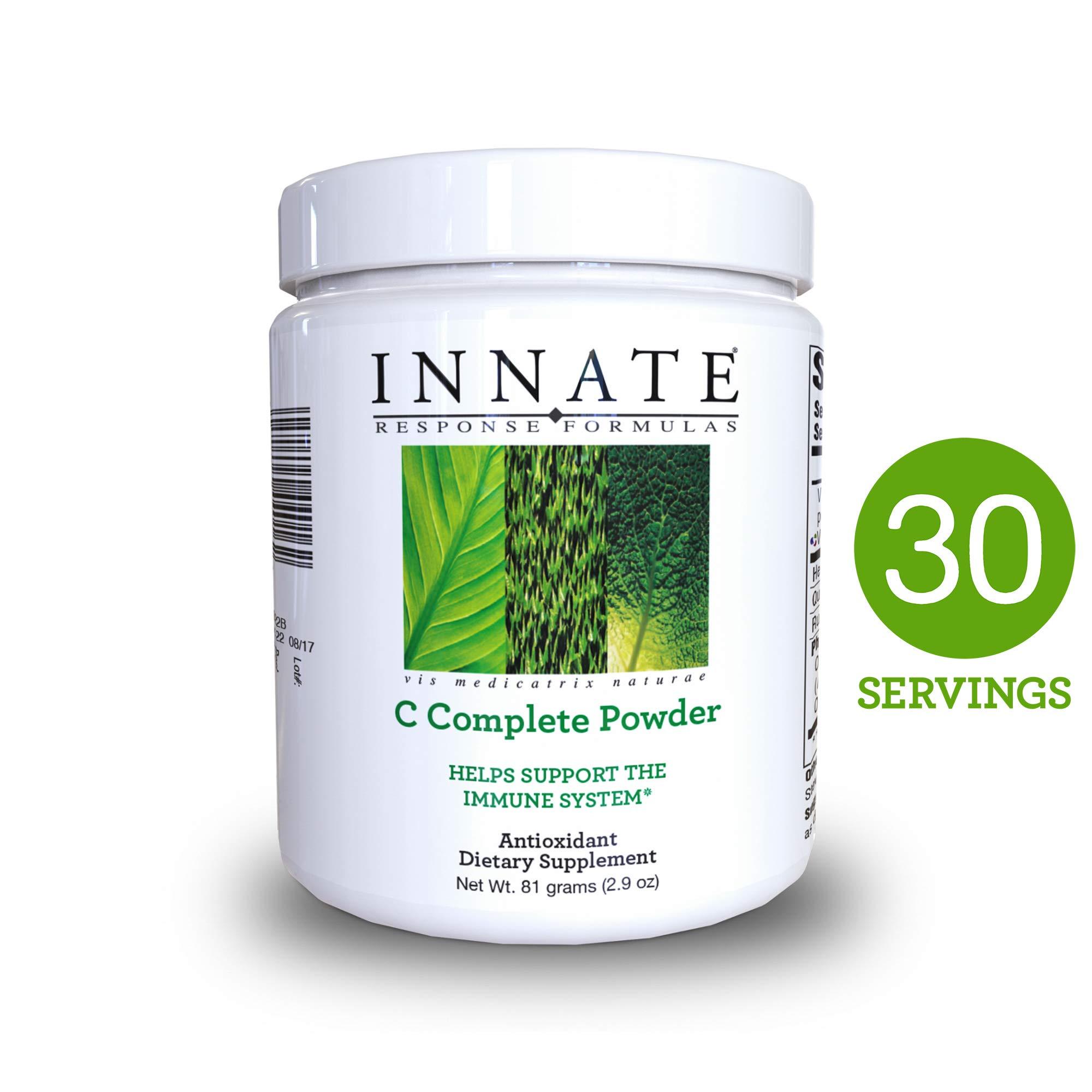 INNATE Response Formulas - C Complete Powder, Unique and Gentle Powdered Vitamin C Formula, 30 Servings (81 grams)