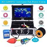 KKMOON 30M Unterwasser Fisch Finder HD 1200TVL Wasserdicht Kamera + 7in LCD Monitor Record & Foto für Ice/Meer/Fluss Angeln