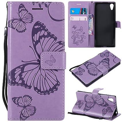f60fa6793e17 Amazon.com: Torubia OnePlus 6 Wallet case, OnePlus 6 Flip case ...
